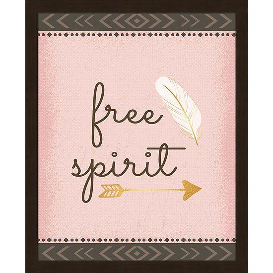Metaverse Art Free Spirit Framed Wall Art