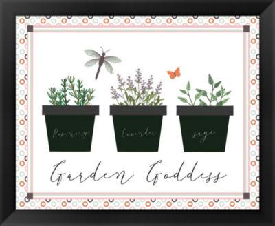 Metaverse Art Garden II Framed Wall Art
