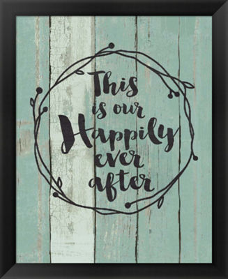 Metaverse Art Happily Ever After Framed Wall Art