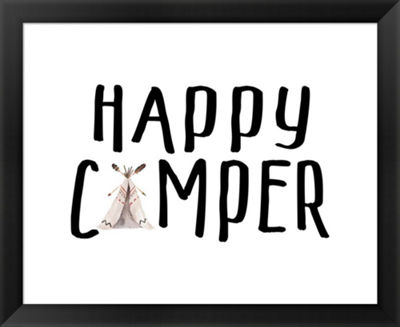 Metaverse Art Happy Camper II Framed Wall Art