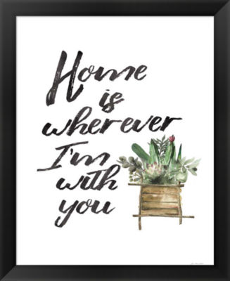 Metaverse Art Home with You Framed Wall Art