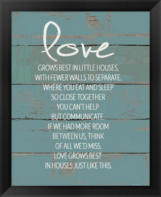 Metaverse Art Love Grows Best Framed Wall Art