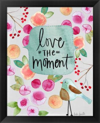 Metaverse Art Love the Moment Framed Wall Art