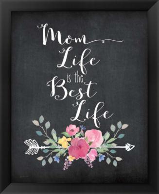 Metaverse Art Mom Life Framed Wall Art
