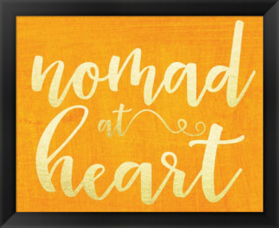 Metaverse Art Nomad at Heart Framed Wall Art