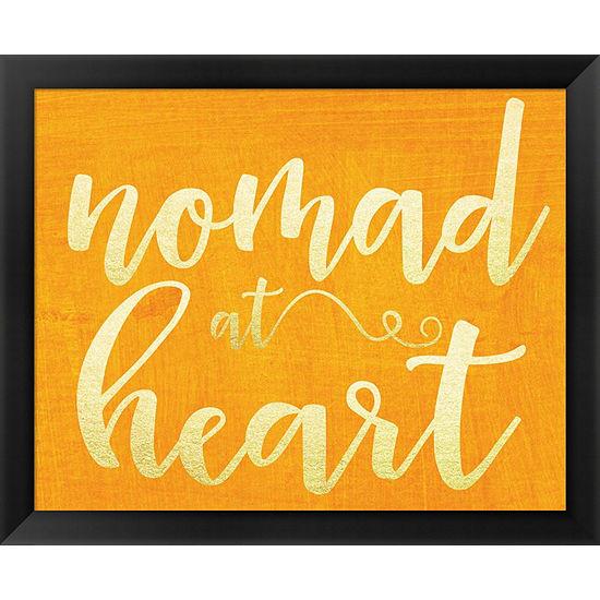 Metaverse Art Nomad at Heart Framed Wall Art