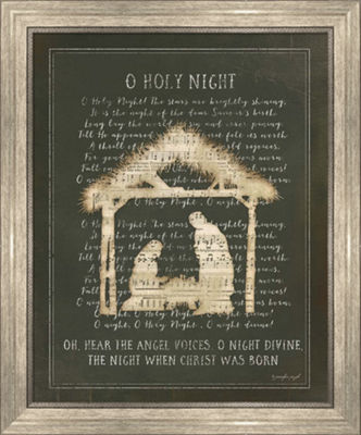 Metaverse Art O Holy Night II Framed Wall Art