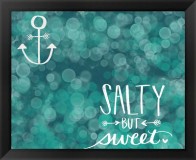 Metaverse Art Salty & Sweet Framed Wall Art