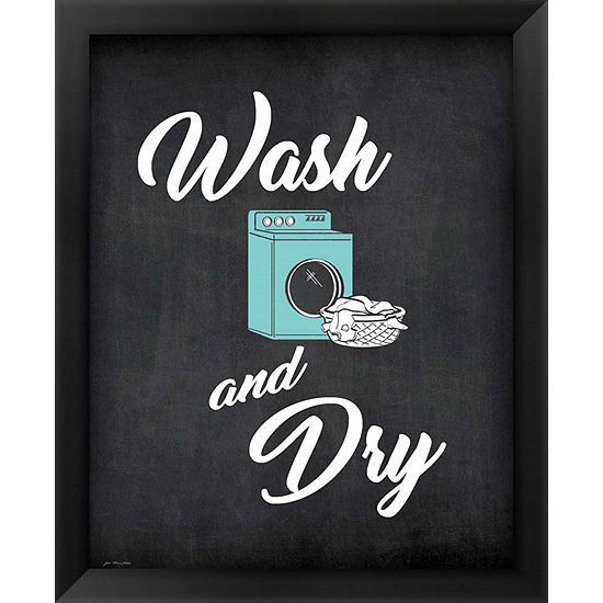 Metaverse Art Wash & Dry Framed Wall Art