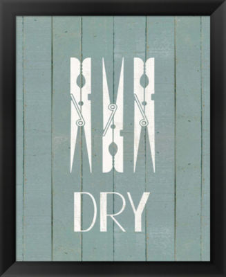 Metaverse Art Wash House Dry Framed Wall Art