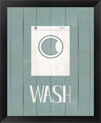 Metaverse Art Wash House Wash Framed Wall Art
