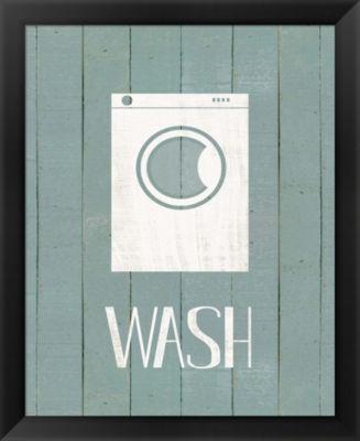 Metaverse Art Wash House Wash Framed Wall Art