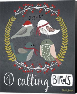 Metaverse Art 4 Calling Birds Canvas Wall Art