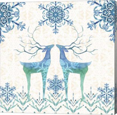 Metaverse Art Winter III Canvas Wall Art
