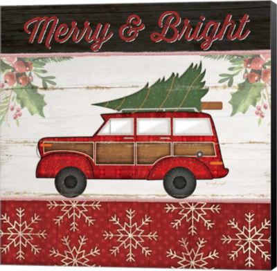 Metaverse Art Merry & Bright Canvas Wall Art