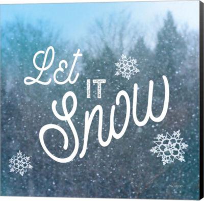Metaverse Art Let it Snow I Canvas Wall Art