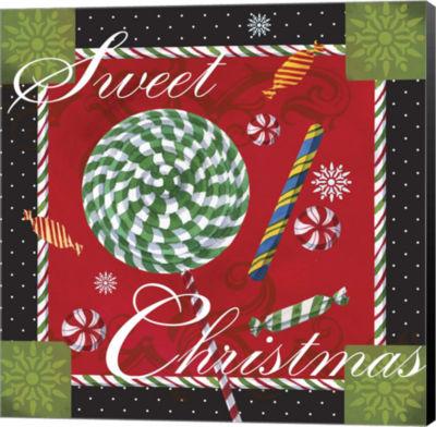 Metaverse Art Sweet Christmas I Canvas Wall Art
