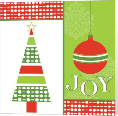 Metaverse Art Joyous Holiday XI Canvas Wall Art
