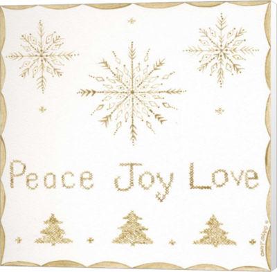 Metaverse Art Peace Joy Love Canvas Wall Art