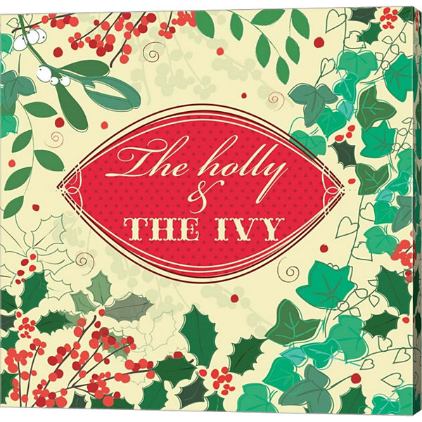 Metaverse Art The Holly & The Ivy Canvas Wall Art