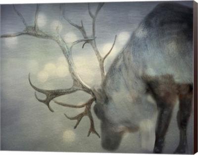 Metaverse Art If On A Winters Night Canvas Wall Art