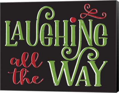 Metaverse Art Laughing All the Way Canvas Wall Art