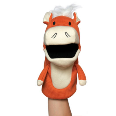 Manhattan Toy Knit Puppets - Hoofly Hand Puppet