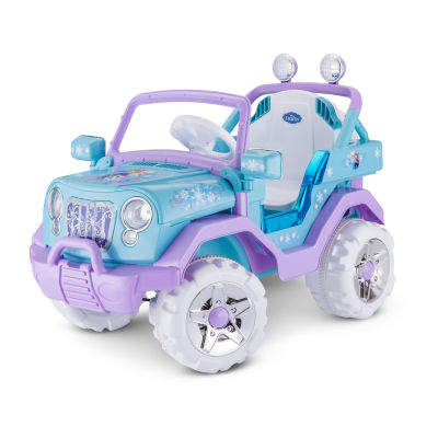 KidTrax Frozen 4x4 6 Volt Electric Ride-on