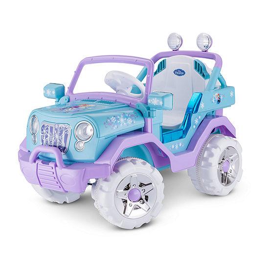 Kid Trax Disney Frozen 4x4 6volt Electric Ride-On