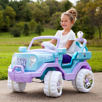 KidTrax Frozen 4x4 Vehicle 6Volt Electric Ride-on