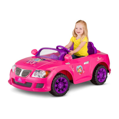 KidTrax Disney Princess Cool Car 12Volt Electric Ride-on in Pink