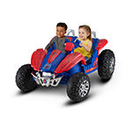 Kid Trax Spiderman Dune Buggy 12volt Electric Ride-On In Red & Blue