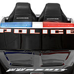 Kid Trax Dodge Charger Pursuit Police Car 12volt Electric Ride-On In Black & White