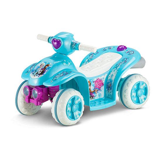 KidTrax Disney Frozen Toddler Quad 6Volt Electric Ride-on in Blue