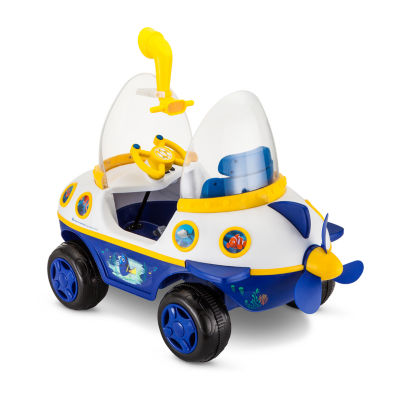 KidTrax Disney Dory Submarine 6Volt Electric Ride-on in Blue & White