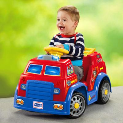 Fisher-Price Power Wheels Nickelodeon PAW Patrol Fire Truck