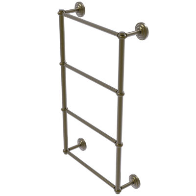 Allied Brass Que New Collection 4 Tier 36 Inch Ladder Towel Bar With Twisted Detail