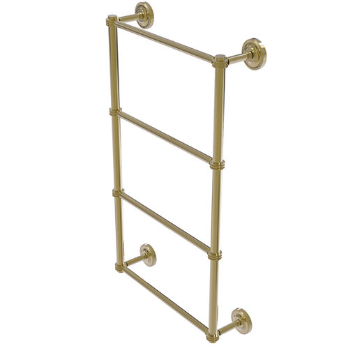 Allied Brass Prestige Regal Collection 4 Tier 24 Inch Ladder Towel Bar with Dotted Detail