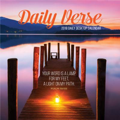 2018 Daily Verse Daily Desktop Calendar