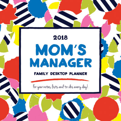 2018 Mom's Manager Daily Desktop Calendar