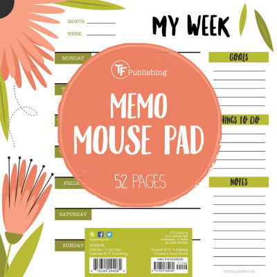 Flowers Memo Mouse Pad