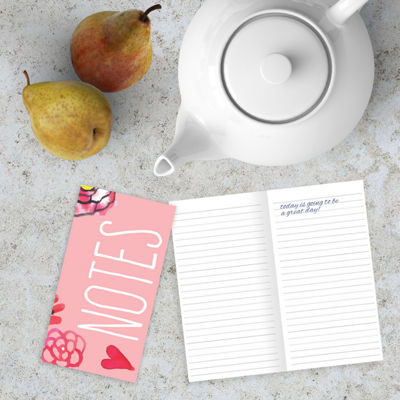 Pink Jotter Notebook