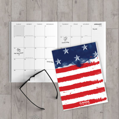 2018 America Monthly Planner