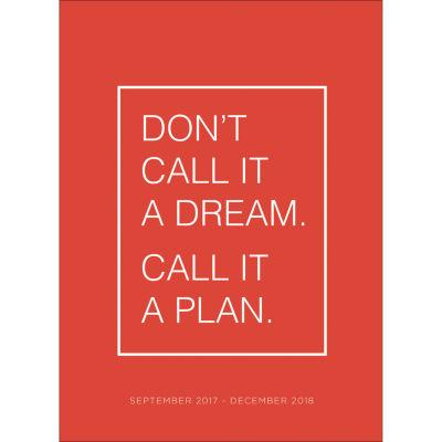 2018 Dream Monthly Planner