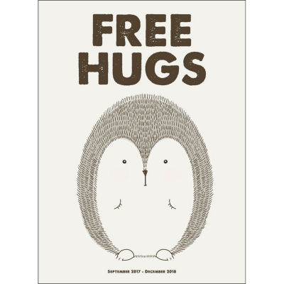 2018 Free Hugs Monthly Planner