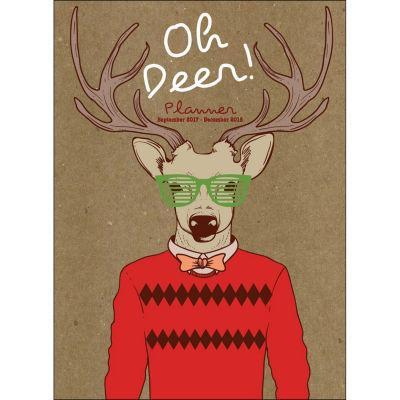 2018 Hip Deer Monthly Planner