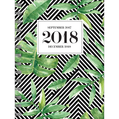 2018 Jungle Medium Weekly Monthly Planner