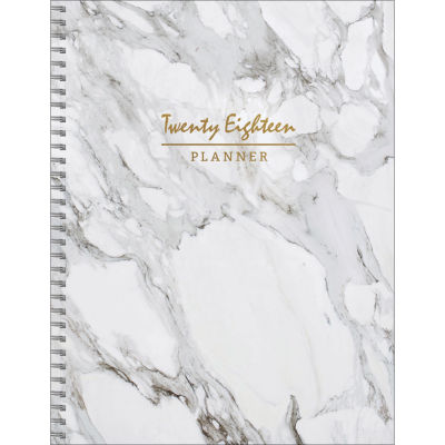 2018 Marble Large Weekly Monthly Planner