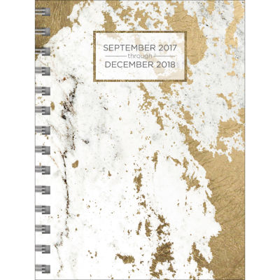 2018 Marble Medium Weekly Monthly Planner