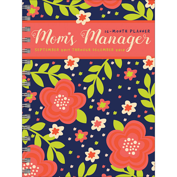 2018 Mom's Manager Medium Weekly Monthly Planner